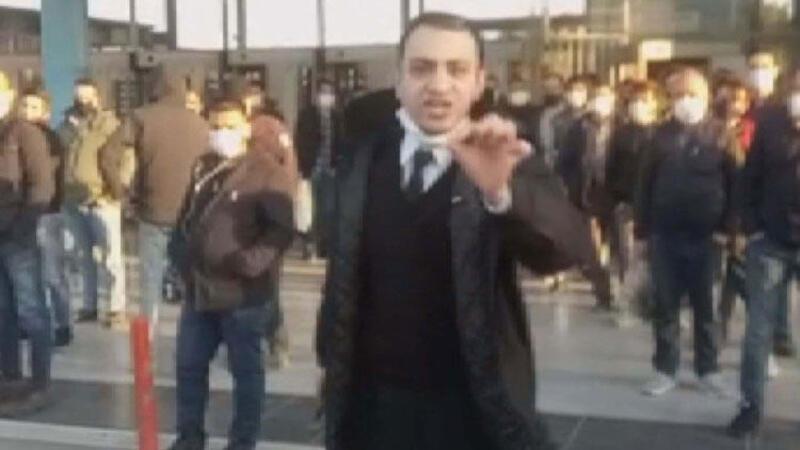 İstanbul'da İETT durağında otobüs isyanı