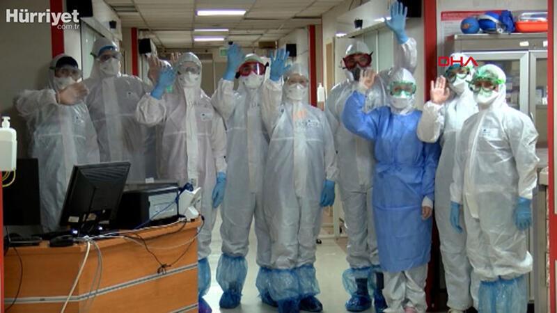 Türkiye'nin ilk karantina hastanesinde koronavirüs mücadelesi
