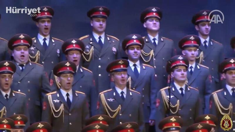 Red Army Choir performs Ottoman war song amid pandemic