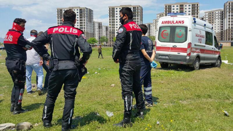 Bursa'da çocukların kavgasında kan döküldü