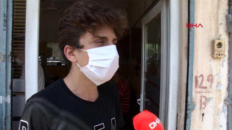 Berbere giden 16 yaşındaki Hüseyin, tıraş olamadı
