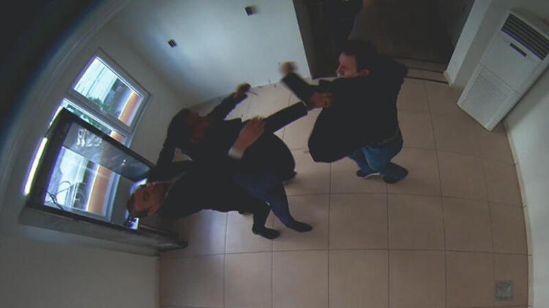 TİSKİ Genel Müdürüne yumruklu saldırı kamerada