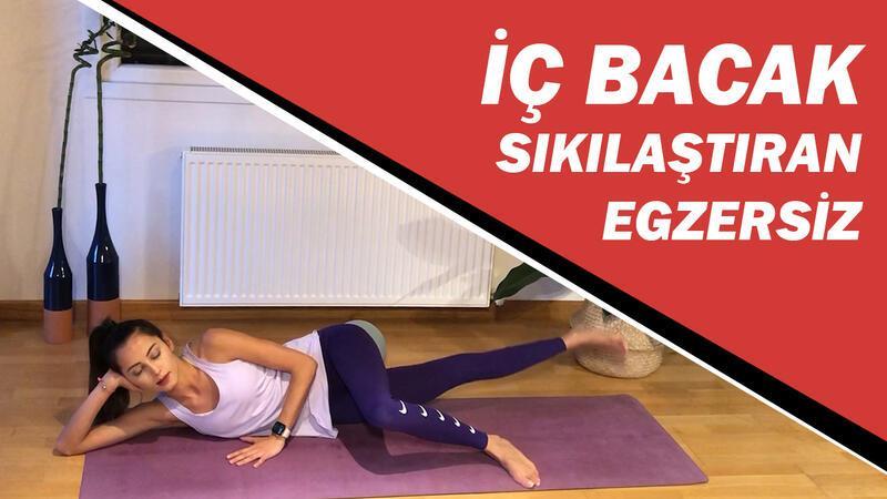 İç bacak sıkılaştıran ve güçlendiren egzersiz