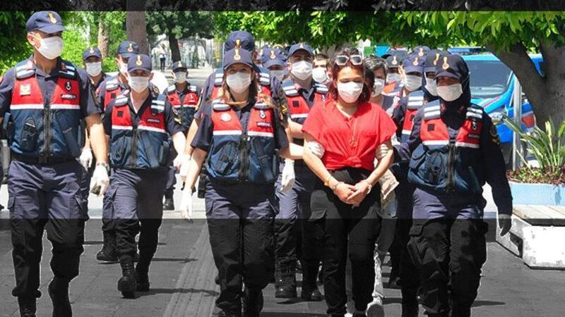 'Mavi Kelebek' uyuşturucu çetesine 24 tutuklama