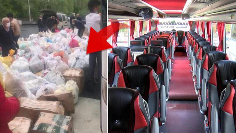 İstanbul'da yolcu bulamayan otobüsler yük taşımaya başladı