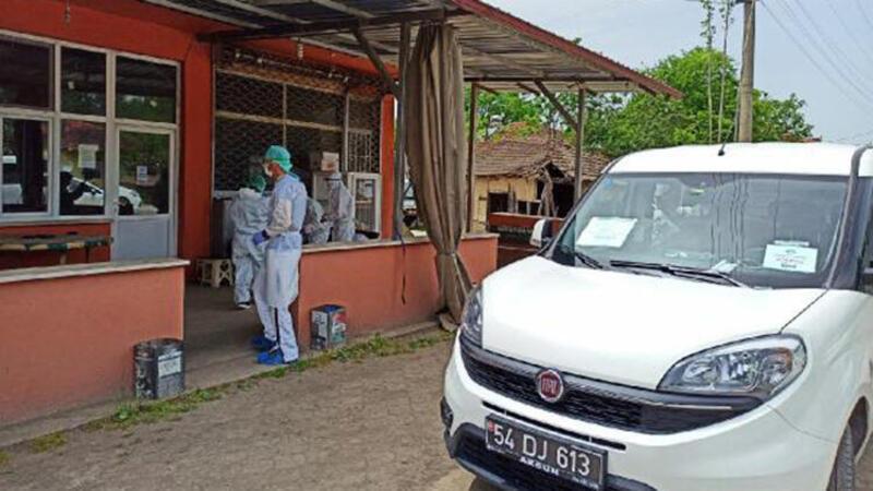 Sakarya'da filyasyon sonucu mahalledeki 56 kişi karantinaya alındı