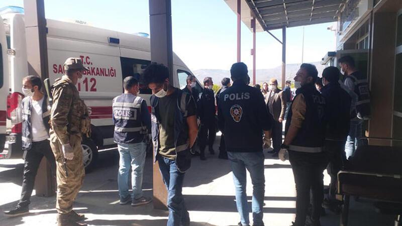 Kars'ta husumetli iki aile kavga etti