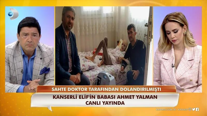 Sahte doktor, kanser hastası Elif Naz'ın babasını dolandırdı!