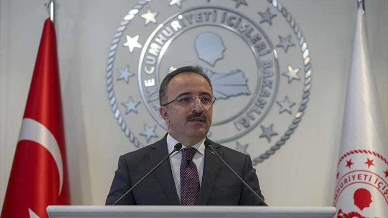 İçişleri Bakanlığı Sözcüsü İsmail Çataklı toplantısı düzenledi