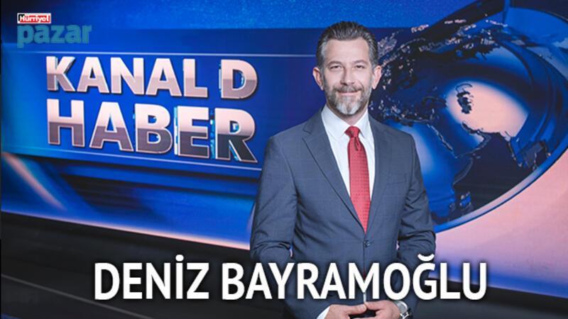 """Deniz Bayramoğlu: """"Kanal D Ana Haber'i sunmak gençlik hayalimdi"""""""