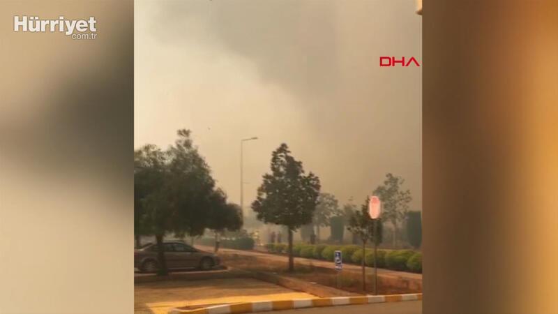 KKTC'deki yangın ODTÜ Kuzey Kıbrıs Kampüsüne sıçradı