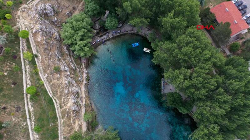 Doğal akvaryum 'Gökpınar Gölü', yeni projeyle daha da güzelleşecek