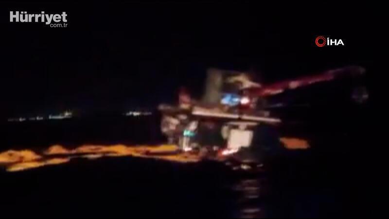 Moritanya açıklarında balıkçı teknesi yüklü halde battı, mürettebat kurtarıldı