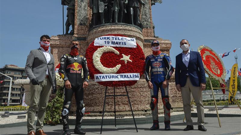 19 Mayıs Atatürk'ü Anma Gençlik ve Spor Bayramı'nda İstanbul'da Atatürk Rallisi düzenlendi.