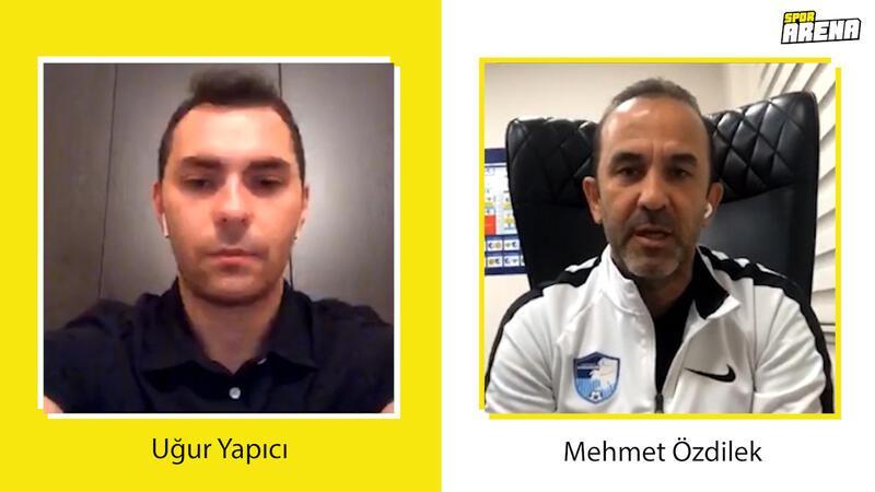 Mehmet Özdilek: 'Koronavirüs stresini sadece yaşayanlar anlayabilir'