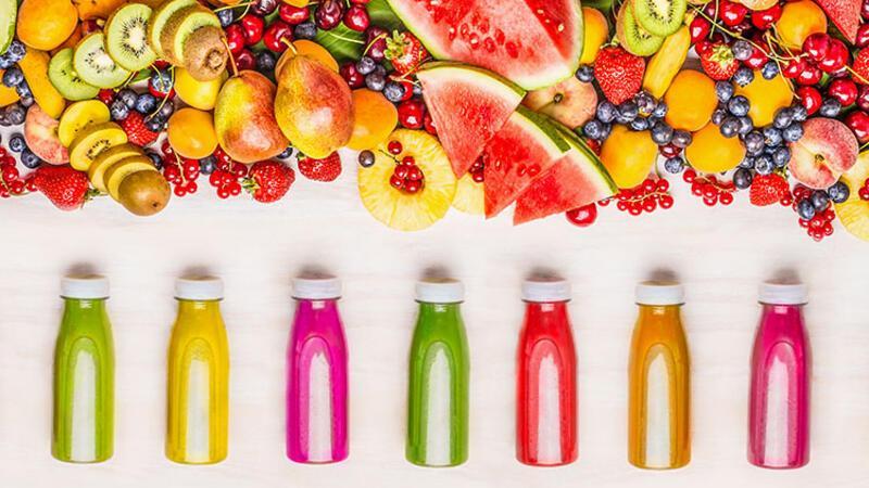 Zevkle tükettiğimiz meyve suları arasında en iyi 10'u seçiyoruz