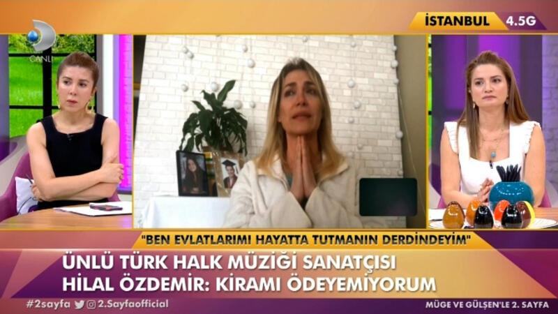 Hilal Özdemir, canlı yayında isyan etti