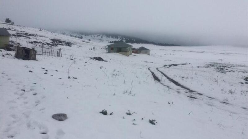Sivas'ta Mayıs ayında rekor soğuk