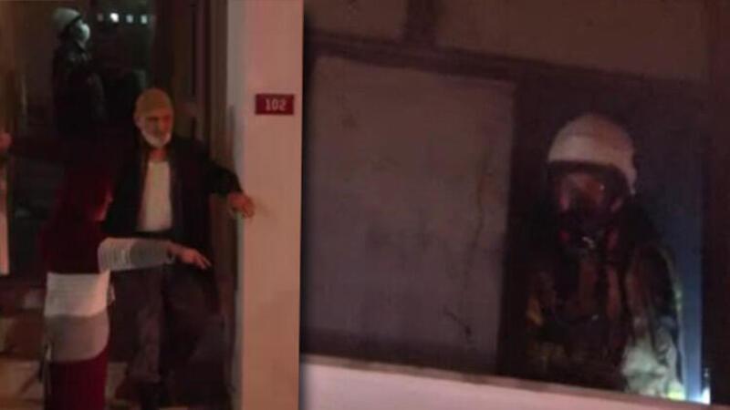 Son dakika... Maltepe'de beş katlı apartmanda korkutan yangın