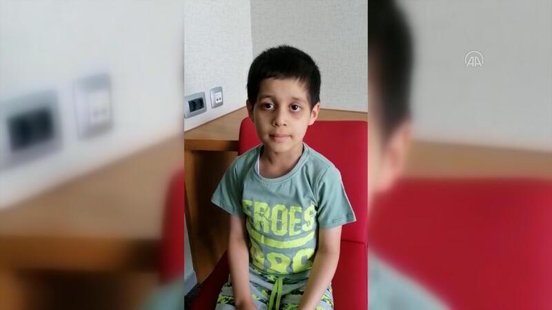 Cumhurbaşkanı Erdoğan'ın tedavisini üstlendiği küçük Taha'dan sevindiren haber