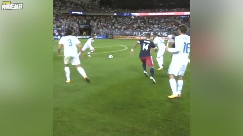 Hakem kamerasından Real Madrid - MLS Karması maçı aksiyonları!
