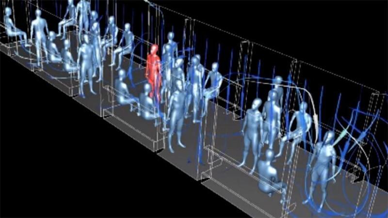 İngiltere'de metroda koranavirüs deneyi: 7 metrelik alanda herkese bulaşıyor