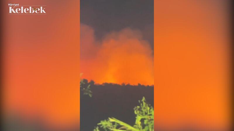 Survivor ekibini korkutan yangın