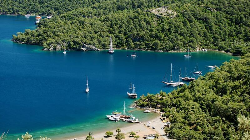 Türkiye'nin en iyi 10 mavi tur rotası