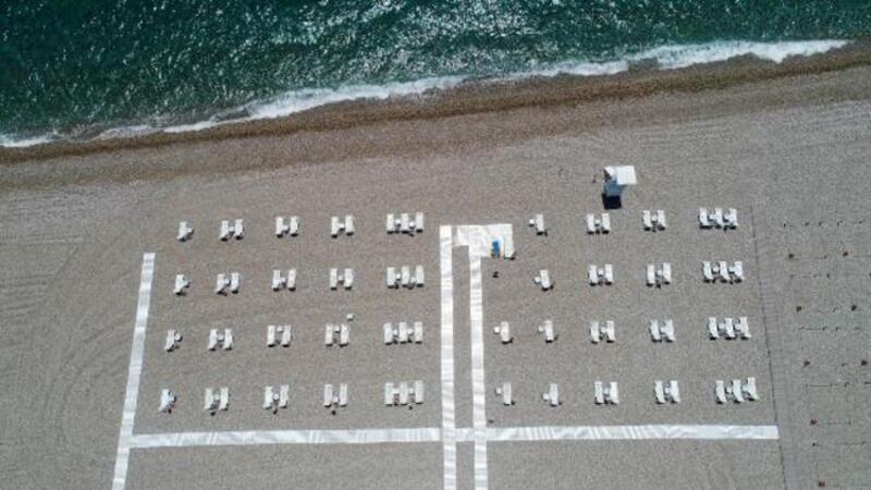 Dünyaca ünlü sahil, koronavirüs sonrasına hazır