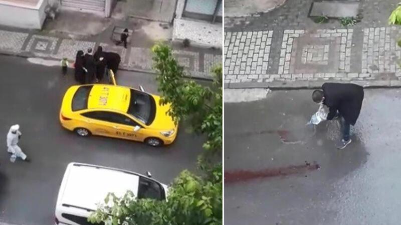 Taksici doğum yapan kadını aracından böyle attı