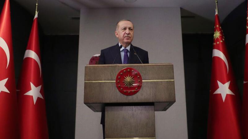 """Cumhurbaşkanı Erdoğan'dan """"demokratik ve ekonomik gelişim"""" paylaşım"""