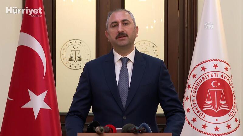 """Adalet Bakanı Abdulhamit Gül: """"1 Haziran'dan  itibaren kapalı görüşler yapılmaya başlanacaktır"""