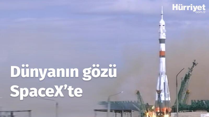 SpaceX uzaya astronot gönderiyor! Dünya tarihinde bir ilk