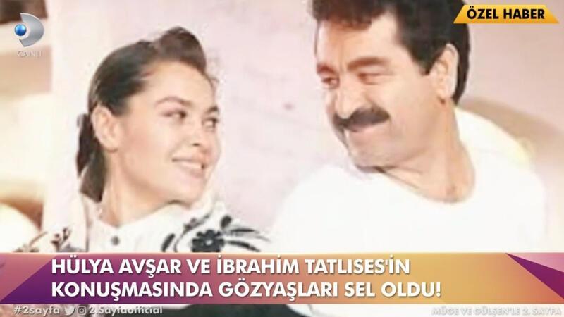 Hülya Avşar'dan İbrahim Tatlıses'i ağlatan telefon... Gözyaşları sel oldu!