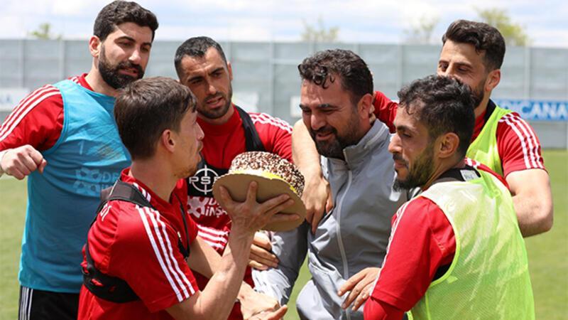 Sivasspor'da neşeli antrenman!