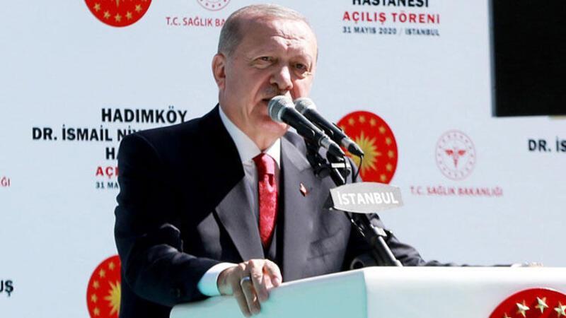 Cumhurbaşkanı Erdoğan, Dr. İsmail Niyazi Kurtulmuş Hastanesi açılışında konuştu