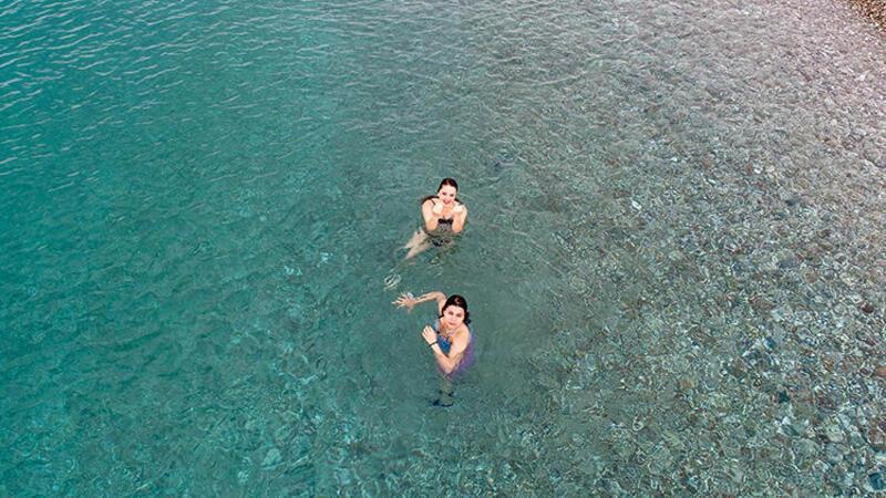 Konyalaltı Plajı'nda 'yeni normal'in ilk günü