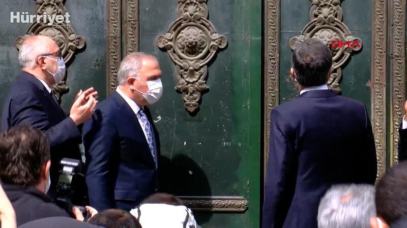 İstanbul Valisi Ali Yerlikaya, Kapalıçarşı'nın  açılışını yaptı