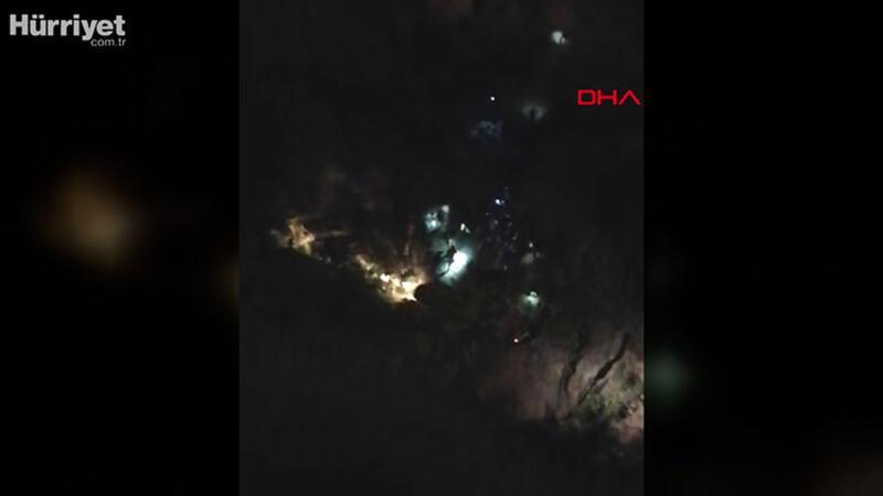 Siirt'te zırhlı araç uçuruma yuvarlandı