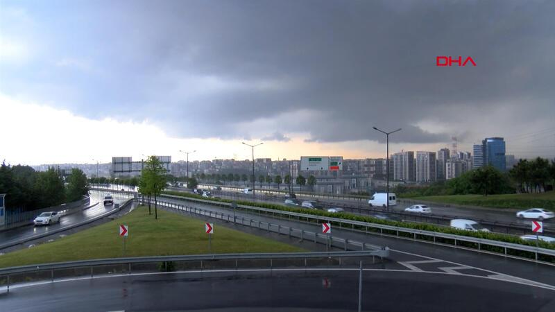 Son dakika haber... İstanbul'da sağanak yağış etkili olmaya başladı