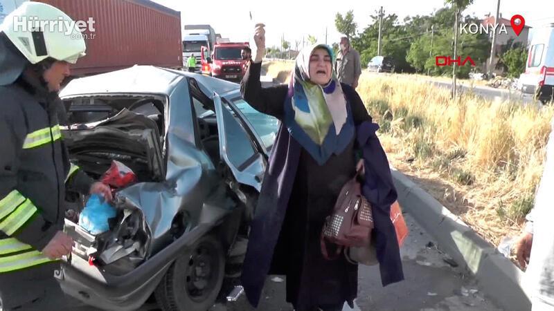 Eşi ve iki çocuğu kazada yaralanan kadından sürücüye 'köpek için fren' tepkisi