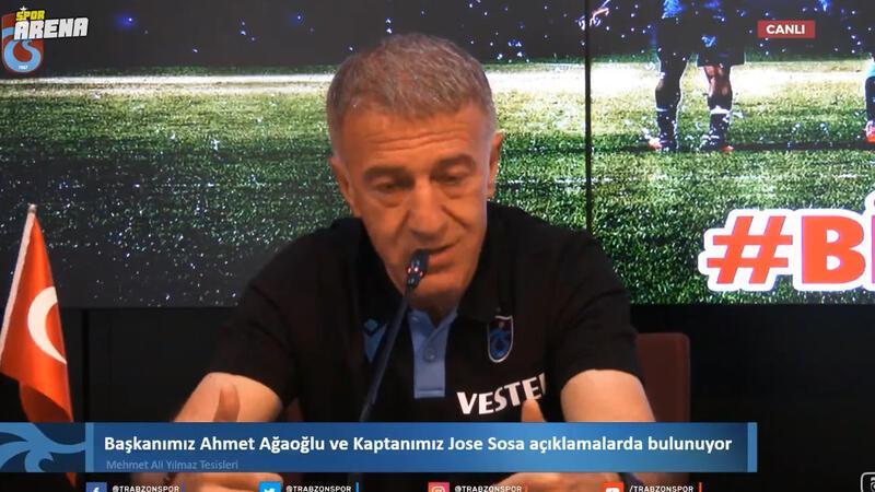Ağaoğlu'ndan Sosa açıklaması: 'Utanç verici, aşağılık bir haber...'