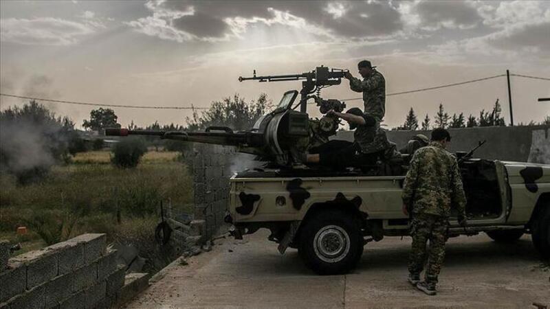 AA, Hafter milislerinden kurtarılan Trablus Havalimanı'nı görüntüledi