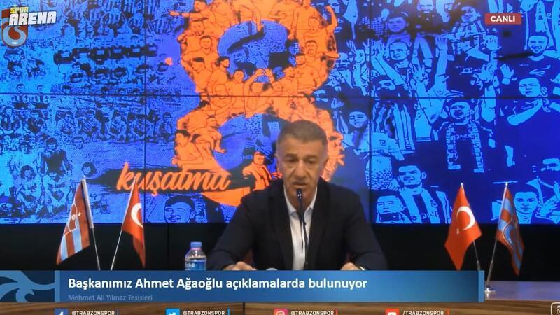 Ahmet Ağaoğlu'ndan UEFA ve CAS açıklaması!