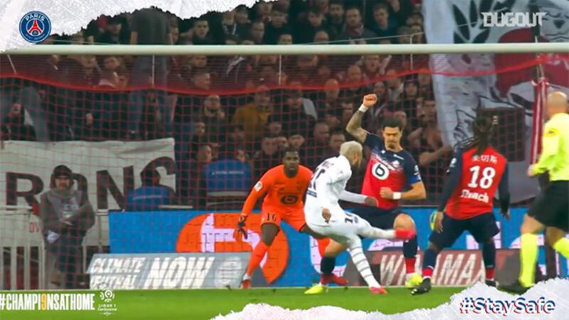 PSG'nin Ligue 1'de attığı en iyi gollere bu açılardan bakın!