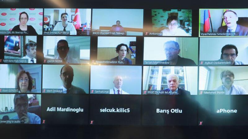 Aşı Bilim Kurulu'nun, Rus tarafıyla ilk toplantısı gerçekleştirildi