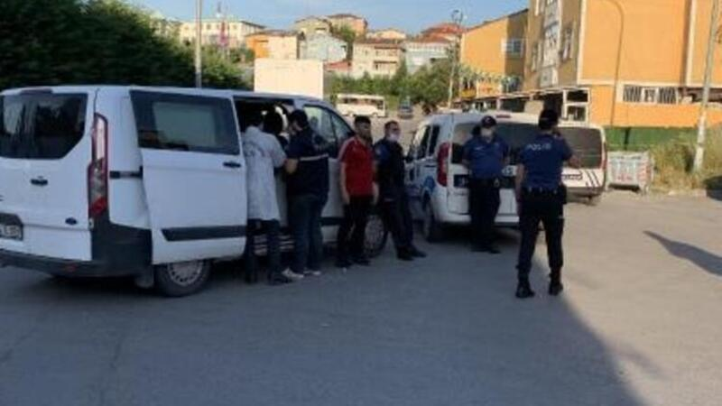Sultanbeyli'de pompalı dehşeti