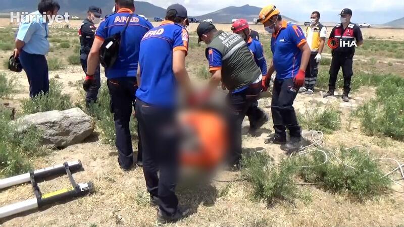 Kayıp Afganistan uyruklu çobanın cesedi su kuyusunda bulundu