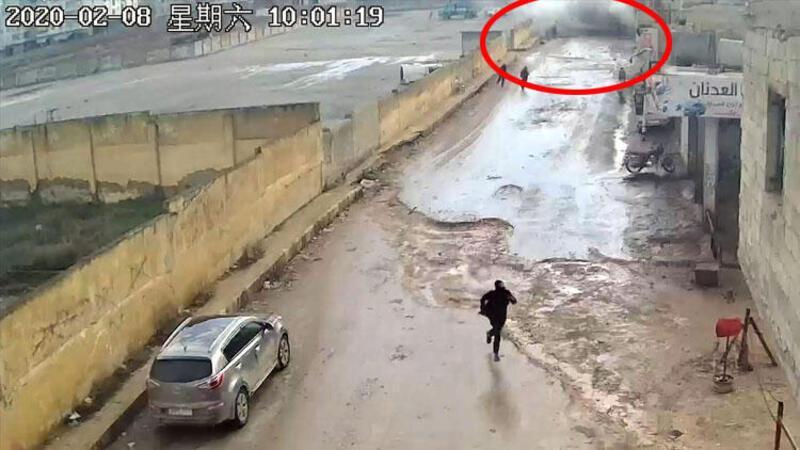 Afrin'de yakalanan YPG/PKK'lı teröristler, bombalı eylemlerini kameraya kaydetmiş