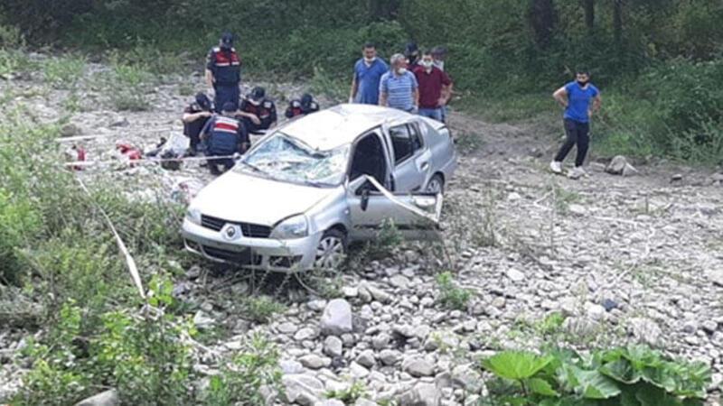 Kastamonu'da otomobil çaya devrildi: 3 ölü, 3 yaralı